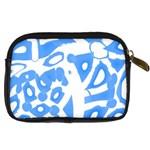 Blue summer design Digital Camera Cases Back