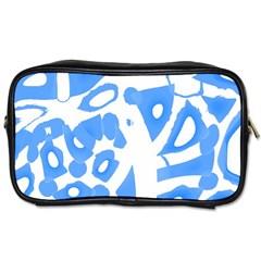 Blue summer design Toiletries Bags