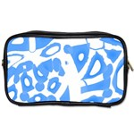 Blue summer design Toiletries Bags 2-Side