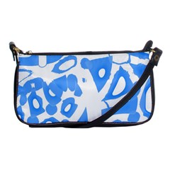 Blue Summer Design Shoulder Clutch Bags