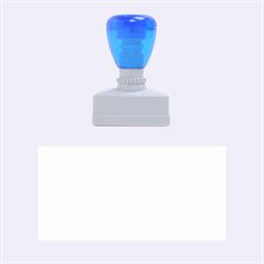 Blue summer design Rubber Stamps (Medium)