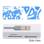 Blue summer design Memory Card Reader (Stick)