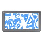 Blue summer design Memory Card Reader (Mini)