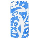 Blue summer design Apple iPhone 5 Hardshell Case