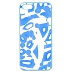 Blue summer design Apple Seamless iPhone 5 Case (Color)