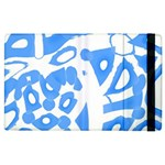 Blue summer design Apple iPad 2 Flip Case