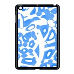 Blue summer design Apple iPad Mini Case (Black)