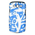 Blue summer design Samsung Galaxy S III Classic Hardshell Case (PC+Silicone)