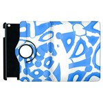 Blue summer design Apple iPad 2 Flip 360 Case