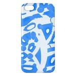 Blue summer design Apple iPhone 5 Premium Hardshell Case