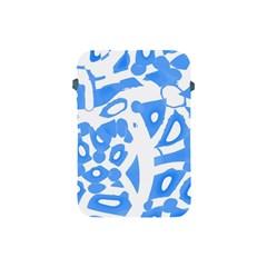 Blue summer design Apple iPad Mini Protective Soft Cases