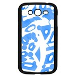 Blue summer design Samsung Galaxy Grand DUOS I9082 Case (Black)