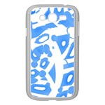 Blue summer design Samsung Galaxy Grand DUOS I9082 Case (White)