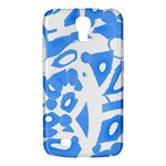 Blue summer design Samsung Galaxy Mega 6.3  I9200 Hardshell Case