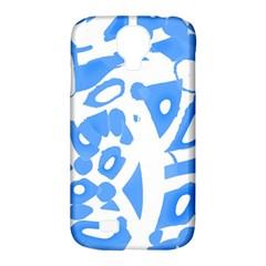 Blue summer design Samsung Galaxy S4 Classic Hardshell Case (PC+Silicone)