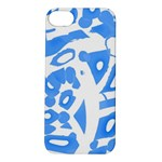 Blue summer design Apple iPhone 5S/ SE Hardshell Case