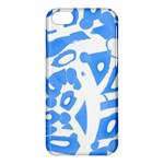Blue summer design Apple iPhone 5C Hardshell Case