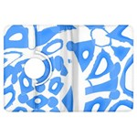 Blue summer design Kindle Fire HDX Flip 360 Case