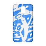 Blue summer design Samsung Galaxy S5 Hardshell Case