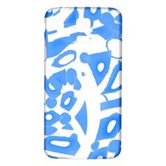 Blue summer design Samsung Galaxy S5 Back Case (White)