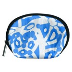 Blue summer design Accessory Pouches (Medium)