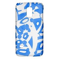 Blue summer design Galaxy S5 Mini