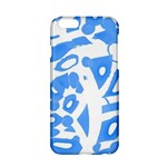 Blue summer design Apple iPhone 6/6S Hardshell Case