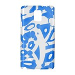 Blue summer design Samsung Galaxy Note 4 Hardshell Case
