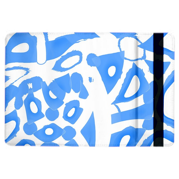 Blue summer design iPad Air 2 Flip