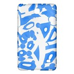 Blue summer design Samsung Galaxy Tab 4 (7 ) Hardshell Case