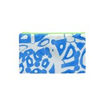 Blue summer design Cosmetic Bag (XS) Front