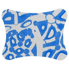 Blue summer design Jigsaw Puzzle Photo Stand (Bow)