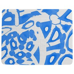 Blue Summer Design Jigsaw Puzzle Photo Stand (rectangular)