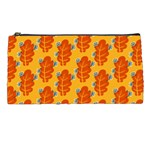 Bugs Eat Autumn Leaf Pattern Pencil Cases Front
