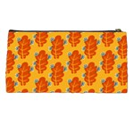 Bugs Eat Autumn Leaf Pattern Pencil Cases Back