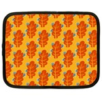 Bugs Eat Autumn Leaf Pattern Netbook Case (XL)  Front