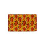 Bugs Eat Autumn Leaf Pattern Cosmetic Bag (Small)  Front