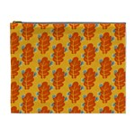 Bugs Eat Autumn Leaf Pattern Cosmetic Bag (XL) Front