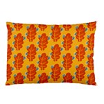 Bugs Eat Autumn Leaf Pattern Pillow Case (Two Sides) Back