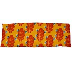 Bugs Eat Autumn Leaf Pattern Body Pillow Case (dakimakura) by CreaturesStore