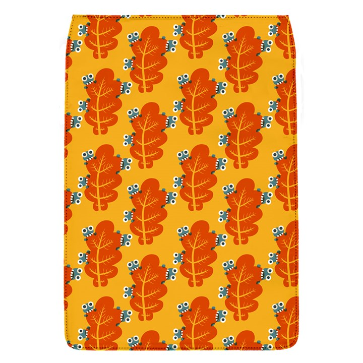 Bugs Eat Autumn Leaf Pattern Flap Covers (S)