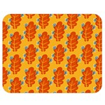 Bugs Eat Autumn Leaf Pattern Double Sided Flano Blanket (Medium)  60 x50 Blanket Front