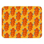Bugs Eat Autumn Leaf Pattern Double Sided Flano Blanket (Large)   Blanket Back
