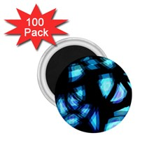 Blue light 1.75  Magnets (100 pack)