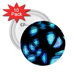 Blue light 2.25  Buttons (10 pack)
