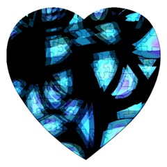 Blue light Jigsaw Puzzle (Heart)