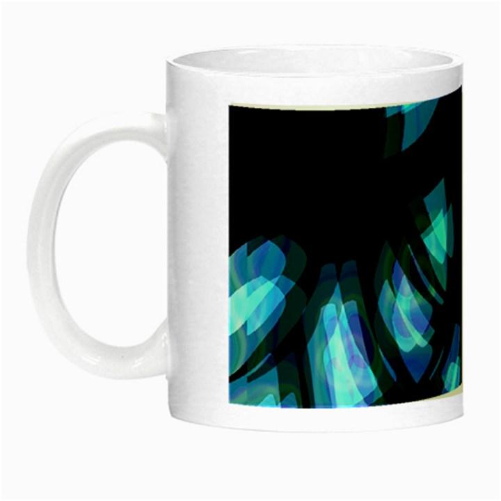 Blue light Night Luminous Mugs