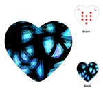 Blue light Playing Cards (Heart)  Front