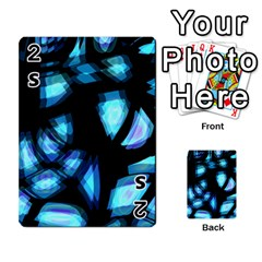 Blue Light Playing Cards 54 Designs
