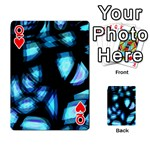 Blue light Playing Cards 54 Designs  Front - HeartQ
